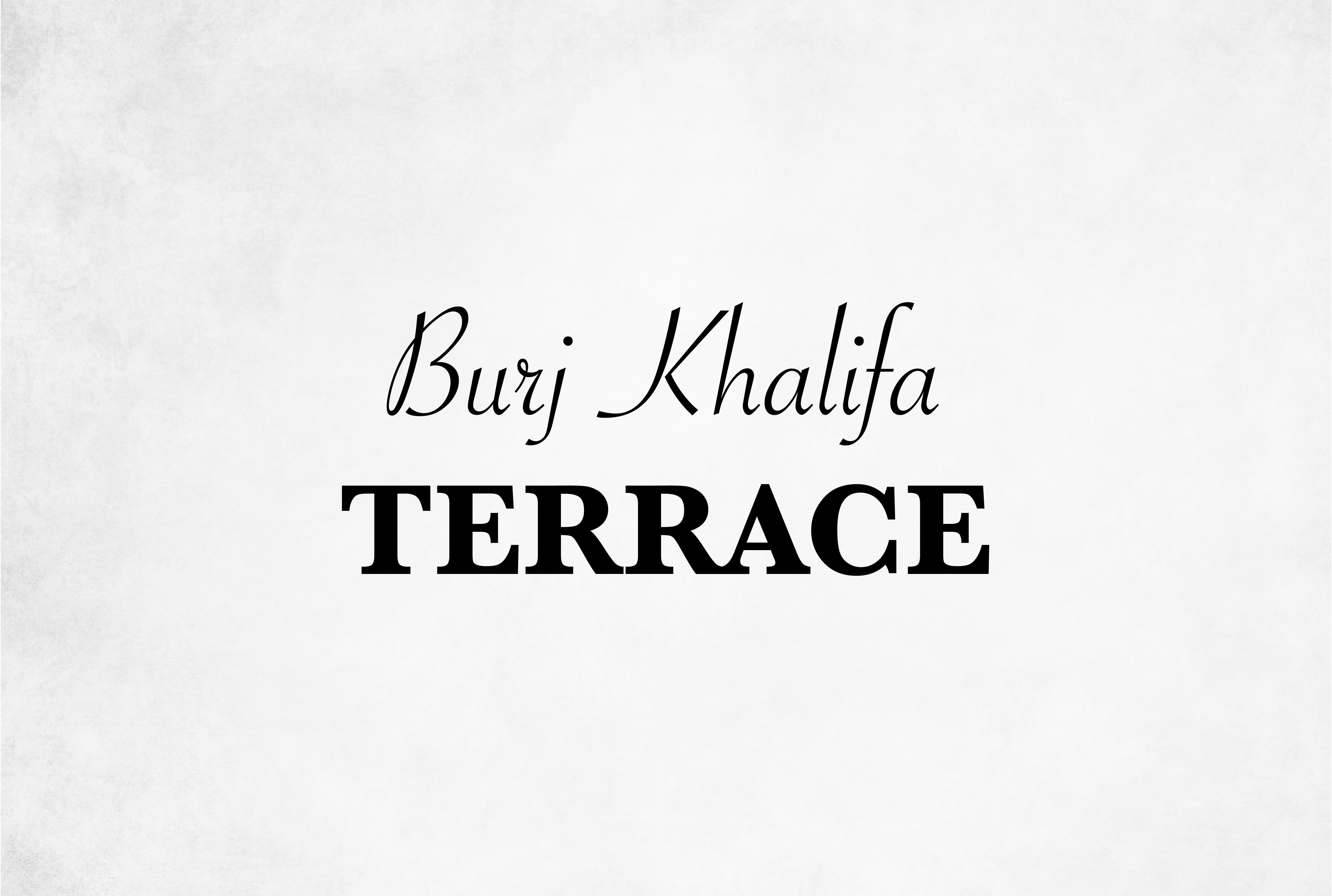Burj Khalifa Terrace