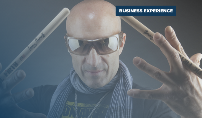 Live drumming with Kenny Aronoff
